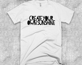 Create your own Sunshine Positive Vibes Plant Based Vegan Short-Sleeve T-Shirt
