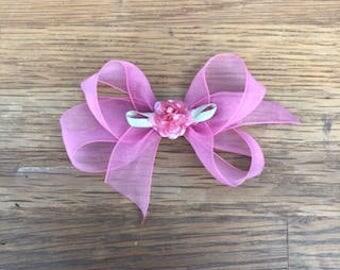 Fuchsia Pink Bow