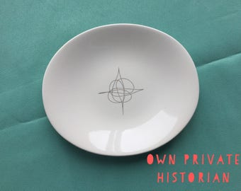 Eva Zeisel Fantasy Bread & Butter Plate(s) Hallcraft China 1950s