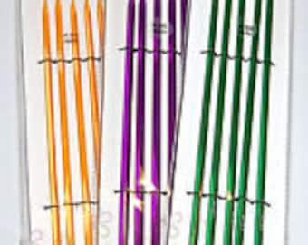 Knit Pro Trendz Double Pointed Knitting Needles Acrylic Plastic Sets of 5