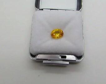 GOLD/ORANGE Sapphire 2.22ct .(heat only)