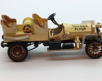RIO MADE In ITALY, Vintage New York To Paris Thomas Flyer,  1:43 Scale Die Cast Car