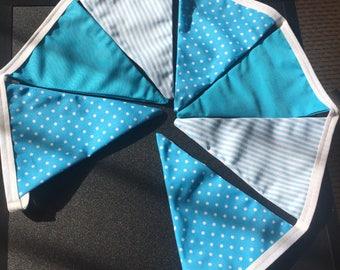 Blue bunting (7 flag)