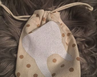 Tooth Fairy Pouch, Tooth Bag, Tooth Case