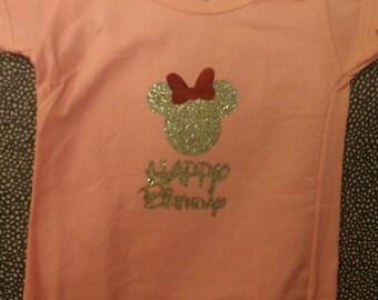 Disney Happy Birthday T-Shirts