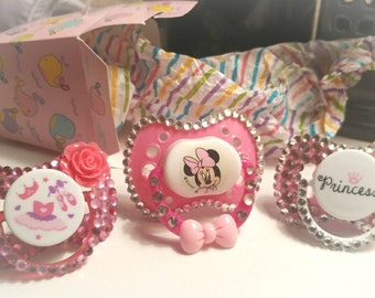 Decorated Baby Paci