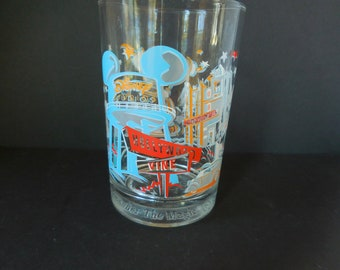 Vintage Disney 25th Anniversary Glass Hollywood Vine Disney Studios 1996