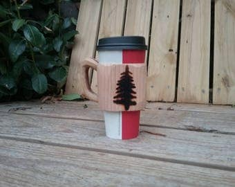 Coffee Hug - Pine tree