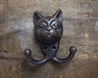 Cat Head Coat Hook