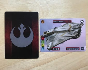 Lothal Rebel X-Wing Alt Art Card