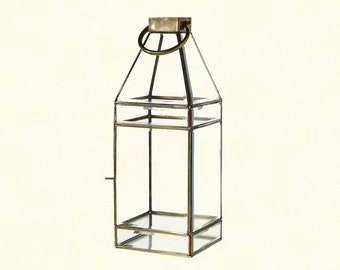 Glass Lantern - Large