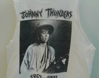 Johnny Thunders Vintage T Shirt 1991 Memorial Show