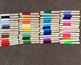 Paintbox yarnsticks