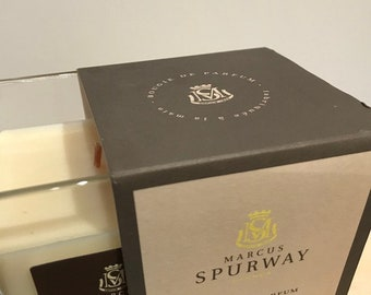MARCUS SPURWAY Promotion fragrance candle - Black tea - 180 ml - candle's fragrance - made in San Francisco on Siagne