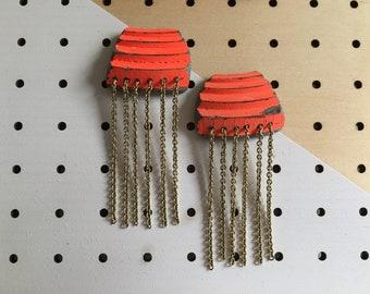 Clay Pigeons Earrings