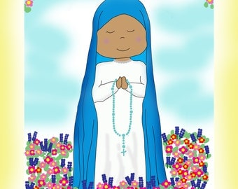 Our Lady of Kibeho Artwork for Young Children