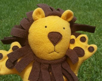 leo the baby lion puppet