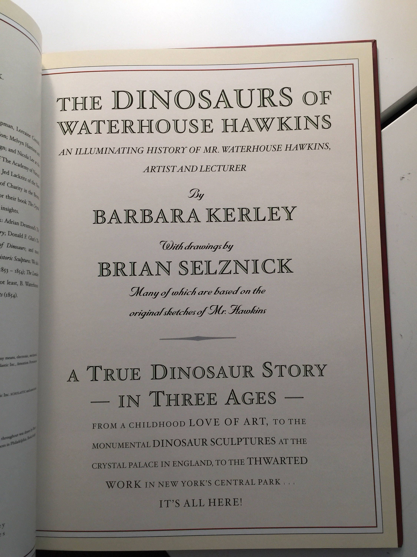 dinosaurs of waterhouse hawkins pdf