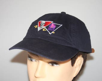 KFC Taco Bell Dad Hat Leather Strap Back Cap Vintage 1990s