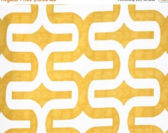 ON SALE - 10% Off Premier Prints Embrace Corn Yellow White Slub Home Decorating Fabric BTY