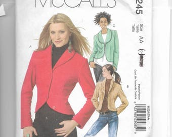 McCall's Misses' Jacket Pattern 5245