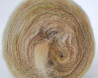 INTRODUCING LOOP LUX!  25% Cashmere!  25 Tussah Silk 50 Merino - Bullseye Bump - (4.2 oz. center-pull bump)