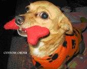 Custom Princess Daisy dog costume
