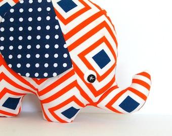 Plush Elephant, Elephant Softie, Elephant Stuffie, Baby Boy Gift