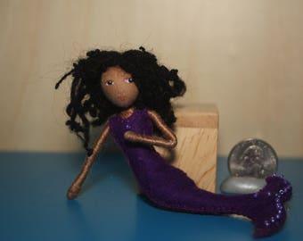 Enchanting Felt Friend mermaid doll waldorf inspired