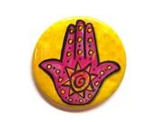 Sun Hamsa Magnet, Pin or ...