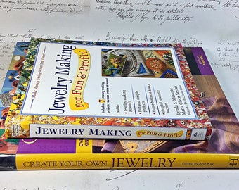 Two how to create and sell your own jewelry  instructions craft  projects books publications