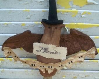 CustomerAppreciationSale Primitive Halloween Owlie and Ghosties