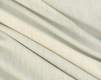 Natural Wool Jersey Fabric 70' Wide! Perfect for Dyeing