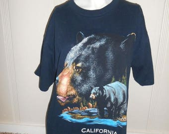 Closing Shop 40%off SALE Vintage California   Bear  tee t shirt tshirt    clothing clothes