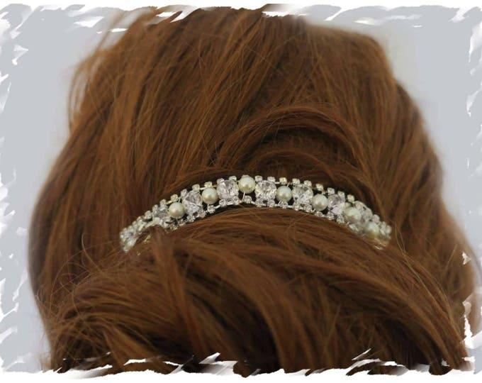 Art Deco Bridal Headpiece 1920s Hair Comb