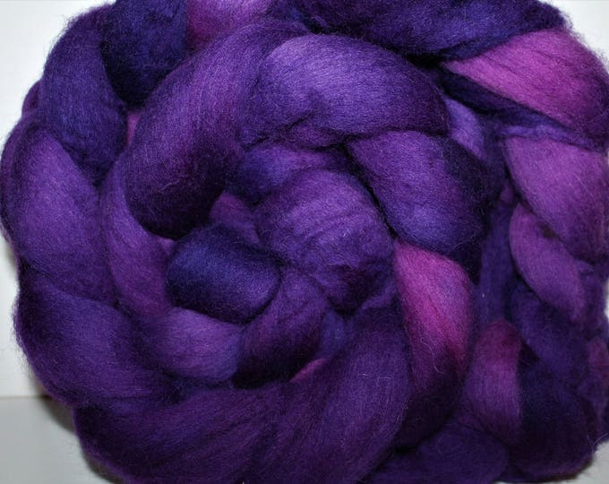 Kettle Dyed Cheviot Wool Top.  Easy to spin.  Great for felting. 1lb. Braid. Spin. Felt. Roving. C110