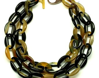 Horn Chain Necklace - Q12798