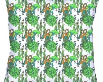 Jamaican Botanicals Throw Cushion Covers (with pillow insert)