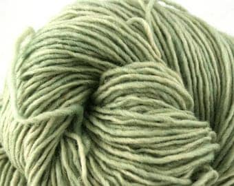 Valkill Hand Dyed DK weight NYS Wool 252yds/ 230m ~4oz/113g Celadon