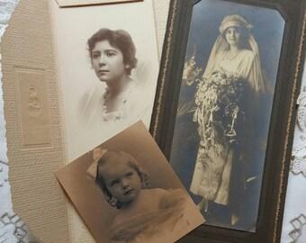 Three Vintage Photographs