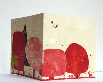 Card, the arboretum in autumn C031