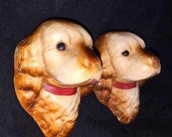 Vintage Chalk Dogs