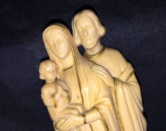 1962 Religious Statue Rosary Box
