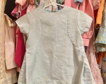 60s Brocade Dress 2/3T