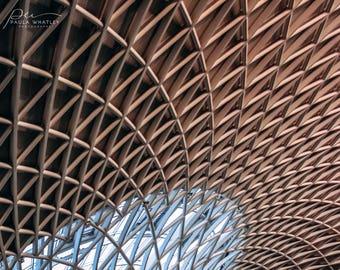 Architecture Art, Architecture Photo, Geometric wall art, Abstract wall decor, London Photo, England Art, Travel art, London Photograph