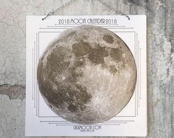 2018 Moon Calendar, 2018 Moon Phase Calendar