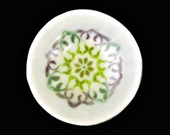 Mandala Bowl, Fused Glass Bowl, Fused Glass Dish, Mandala Art Glass Dish, Decorative Bowl, Fused Glass Art, Handmade Glass Bowl
