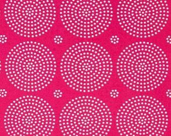 FAT QUARTER - Joel Dewberry Fabric, Atrium, Eclipse, Fuchsia, cotton quilting fabric
