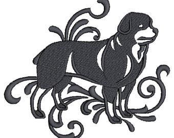 Rottweiler dog Embroidered Towels, Dog Towels, Personalised Towels, Rottweiler 2