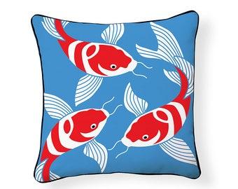 Koi Indoor/Outdoor Pillow